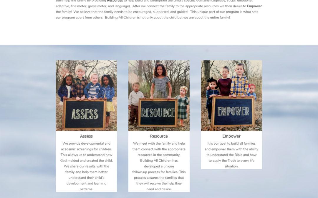 Building All Children Website