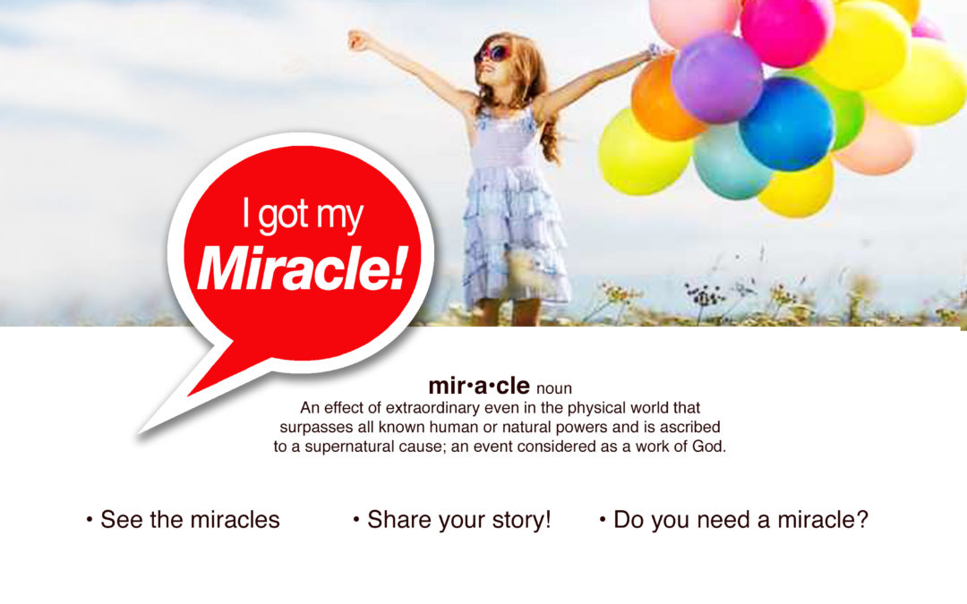 I Got My Miracle Website