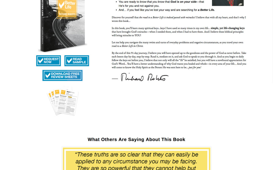 Book Promotion Website